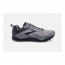 BROOKS - CASCADIA 14 GREY NAVY - MEN